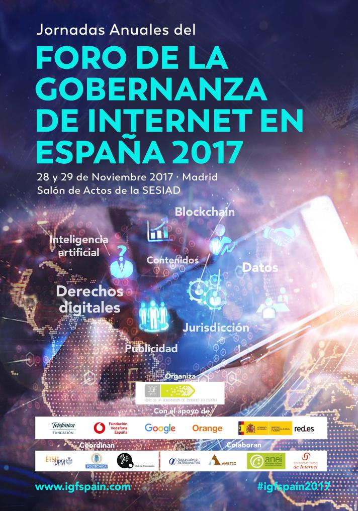 Cartel IGF Spain 2017
